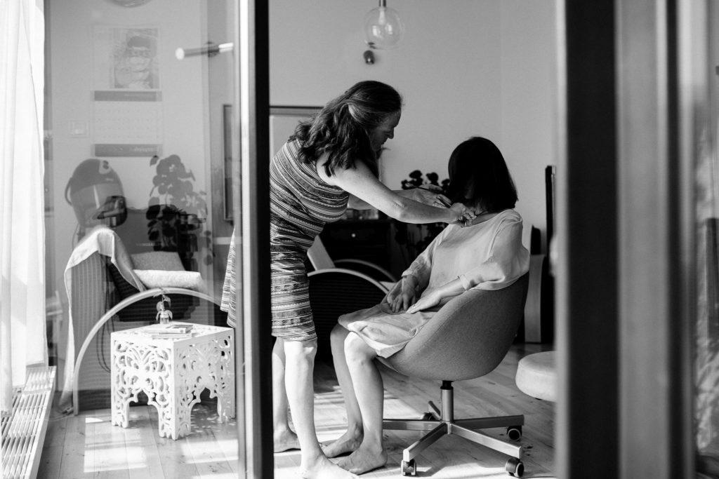 Bewusst Haareschneiden